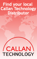 Not based in Ireland? Select a Callan Technology Distributor here.